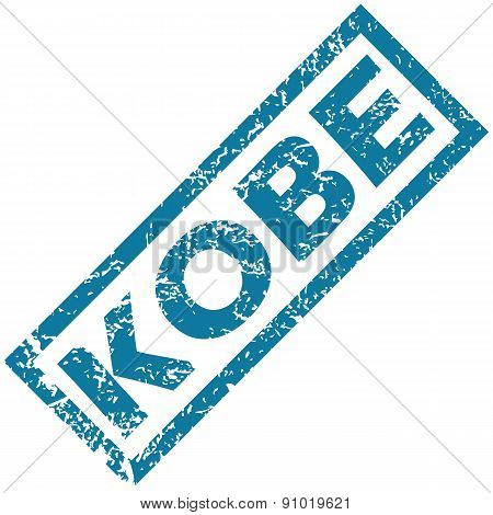 Kobe rubber stamp