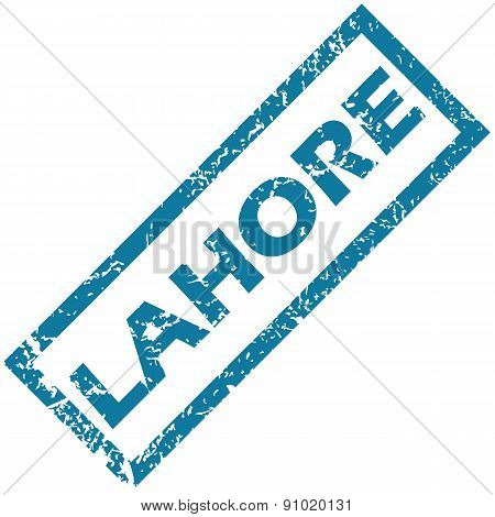 Lahore rubber stamp