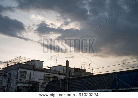 sky of villages