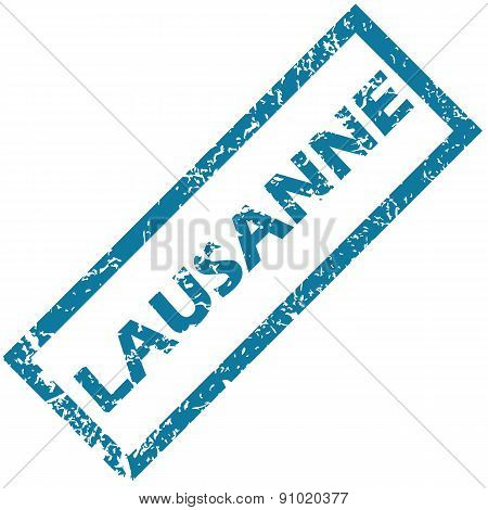Lausanne rubber stamp
