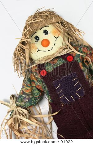 Scarecrow Leaning Right