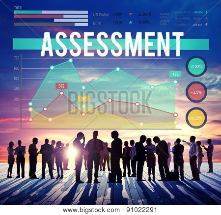 Assessment Analysis Statistics Evaluate Concept