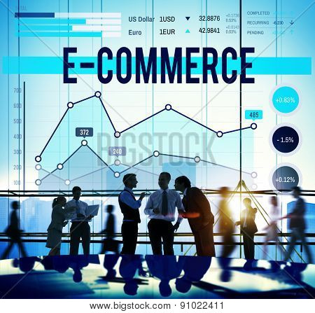 E-commerce Online Technology Marketing Business Concept
