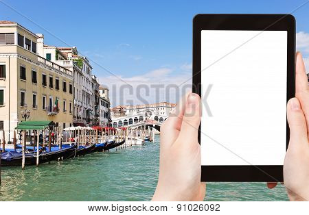 Tourist Photographs Of Grand Canal