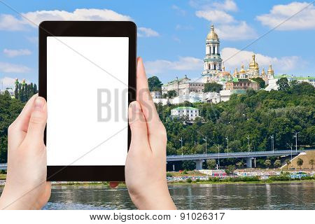 Tourist Photographs Of Kiev Pechersk Lavra
