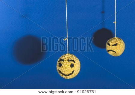 Knitted Emoticons