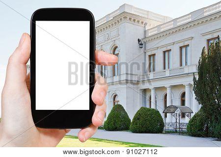 Tourist Photographs Of White Grand