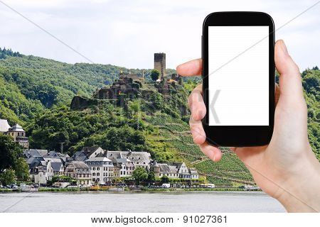 Tourist Photographs Of Beilstein Village, Germany