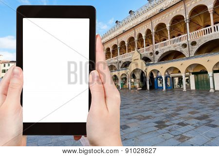 Tourist Photographs Of Piazza Delle Erbe, Padua