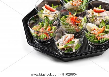 Buffet Box Catering With Salad