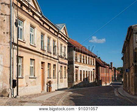 Old Town Of Kuldiga, Latvia