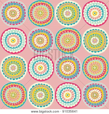 Decorative Circle Pattern