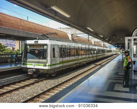 Subway Of Medellin Colombia
