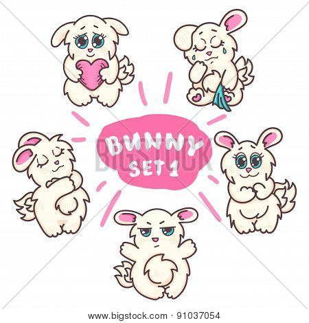Bunnies set