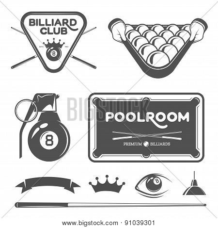 poolroom set