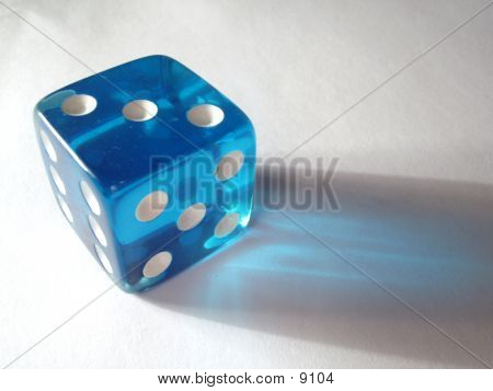 Translucent Blue Die