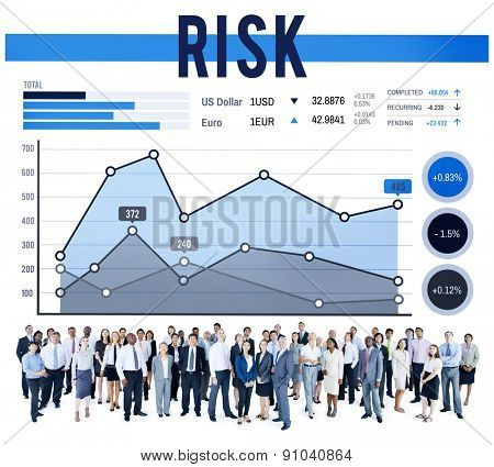 Risk Management Insurance Protection Safety Concept