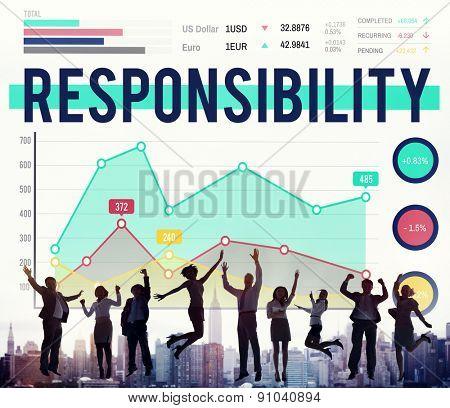Responsibility Duty Job Liability Roles Concept