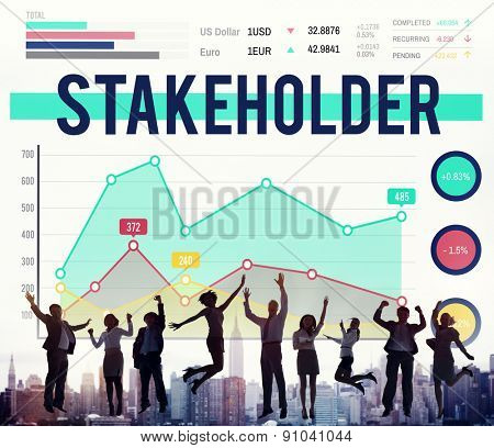 Stakeholder Partner Team Member Management Concept