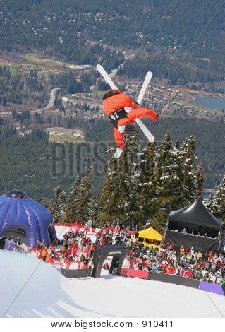 Pipe Skier Flip