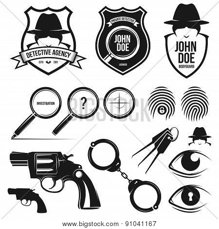 private detective set