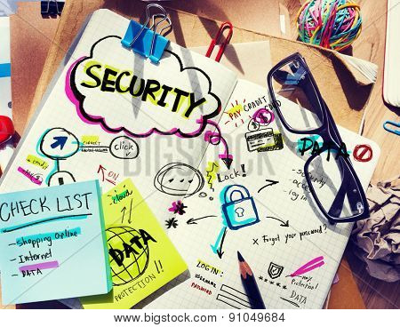 Note Pad and Security Concept