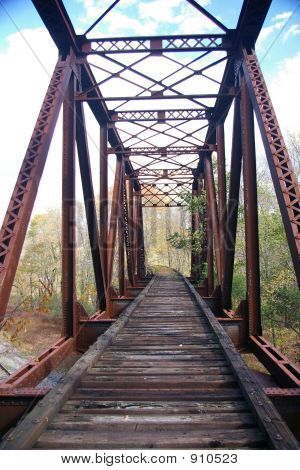 Verlassene Pennsylvania Railroad Trestle