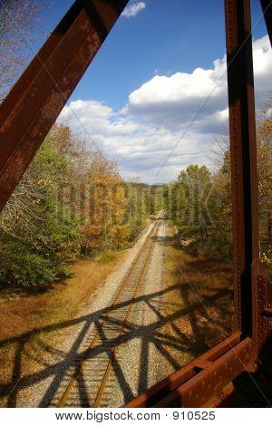Abandoned Pennsylvania Railroad Trestle