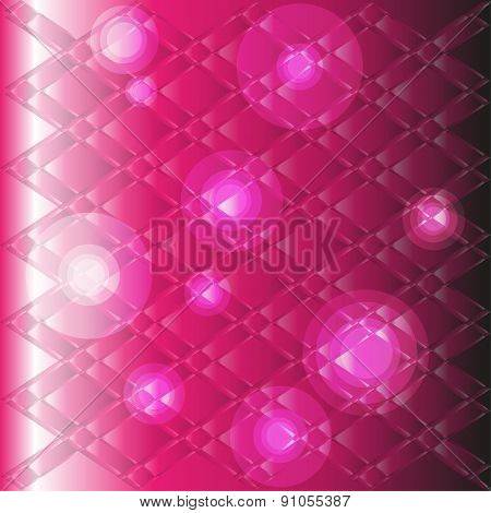 Pinkmodern technology background with dots