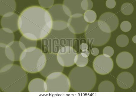 Vector simple green bokeh background, eps 10