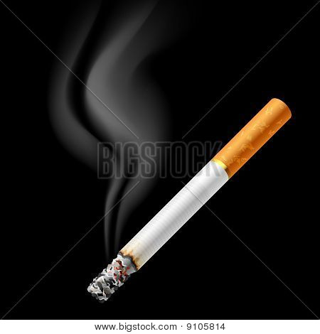 qualmender Zigarette