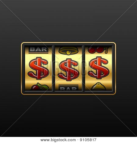 Dollar jackpot - winnen in slotmachine