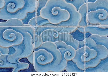 Cloud Wall Tile