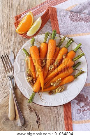 Glazed Fresh Carrots