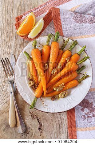 Glazed Fresh Carrots