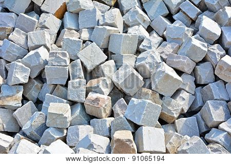 Granite Cobblestoned  Background
