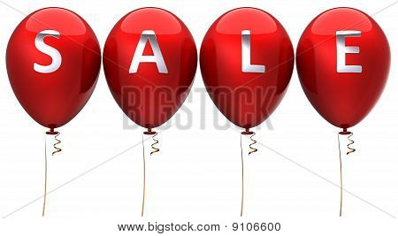 Red sale balloons (Hi-Res)
