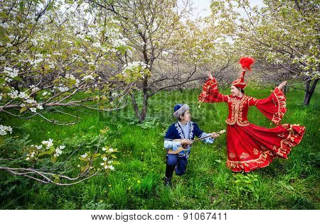 Kazakh Music And Dancing