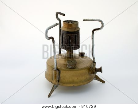 Old Brass Stove