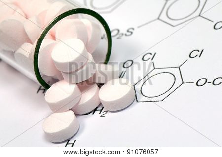 Medicine and Chemical Structure.