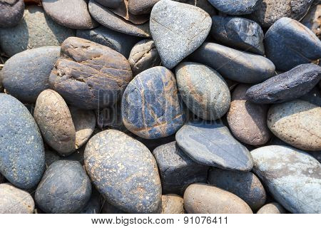 Pebbles Stone Natural Background