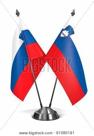 Slovenia - Miniature Flags.