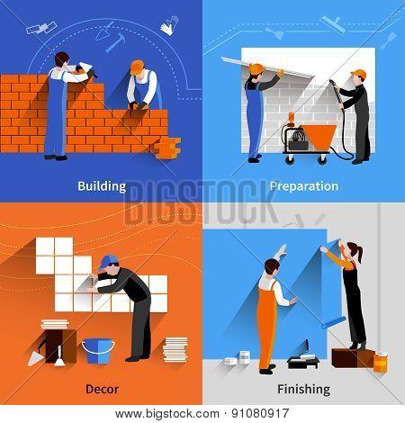 Worker Flat Set