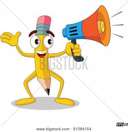 Loud Speaker - Illustration