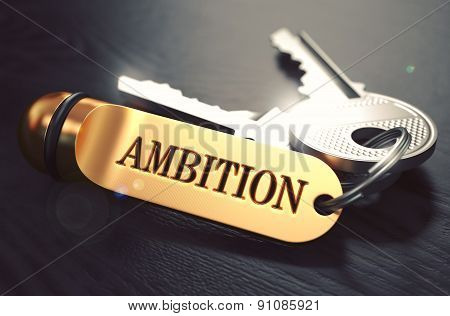 Keys with Word Ambition on Golden Label.