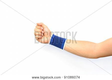 Hand With A Wrist Support