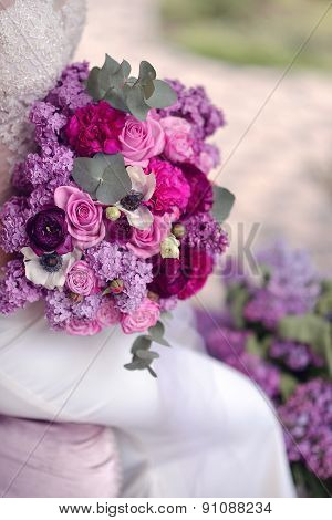 Lilac And Rose