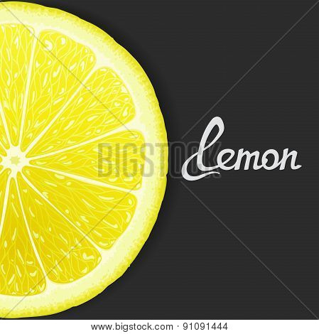 Just of lemon