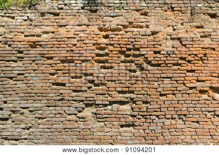 Brick Wall Of A Fortress