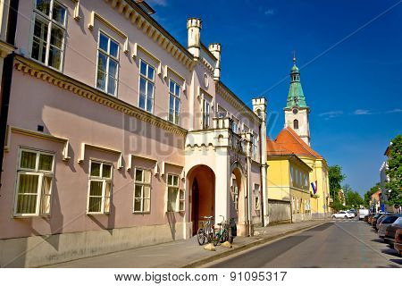 Historic Architecture Of Town Bjelovar